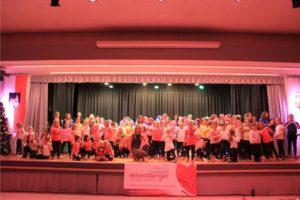 Aufführung der Altenberger Dance 4 Fans Clubs